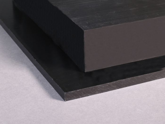 HDPE Sheet 3mm 4mm Thick Black White Polyethylene Engineering Plastic Sheet